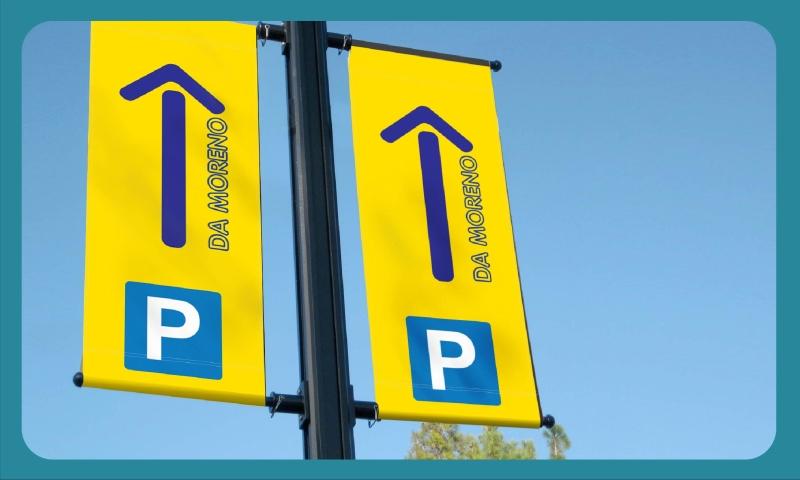 Semnalizare parcare Da Moreno