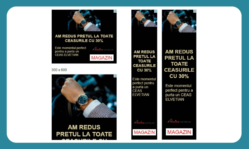 Promovare Adwords Swiss Corner