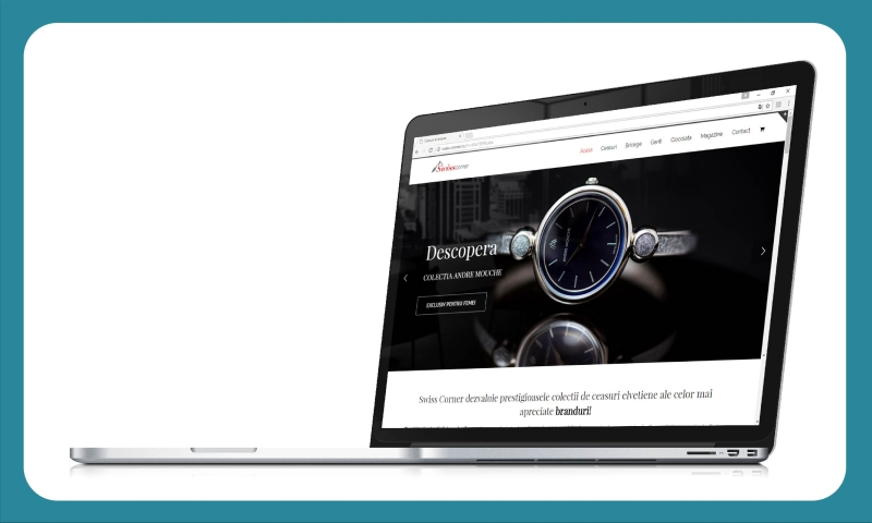 E-shop Swiss Corner creat de Tell Agency